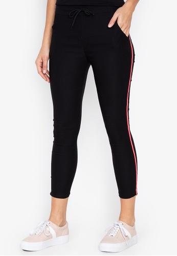 Balaynor black Skinny Track Pants FD326AA3788ABEGS_1
