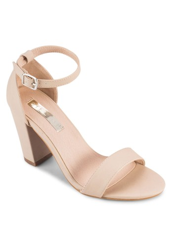 Aurella 粗跟繞踝高跟鞋, esprit 評價女鞋, 鞋