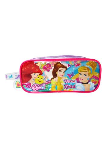 DISNEY Princess Disney Princess Transparent  Square Pencil Bag Set 7AE96KC6E904BEGS_1