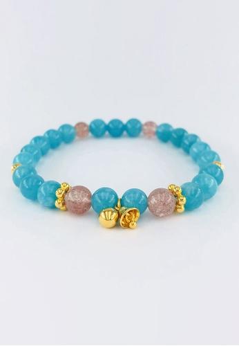 Arthesdam Jewellery gold Arthesdam Jewellery 916 Gold Playful Bells Quartz Bracelet CC61CAC0EFFCC2GS_1