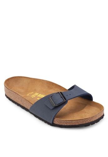 Madesprit門市rid 扣環一字帶拖鞋涼鞋, 女鞋, 鞋