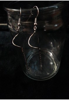 snake dungling type earring