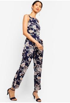 275cb58743 30% OFF ZALORA Straight Neck Jumpsuit RM 119.00 NOW RM 82.90 Sizes XS S M L  XL