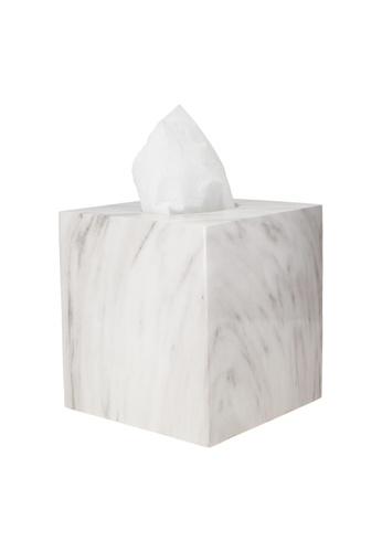 JVD JVD Lifestyle Carrara Tissue Box 1021AHL96D69B9GS_1