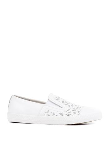 Geox white D Giyo Sneaker 58A5CSH38592E3GS_1