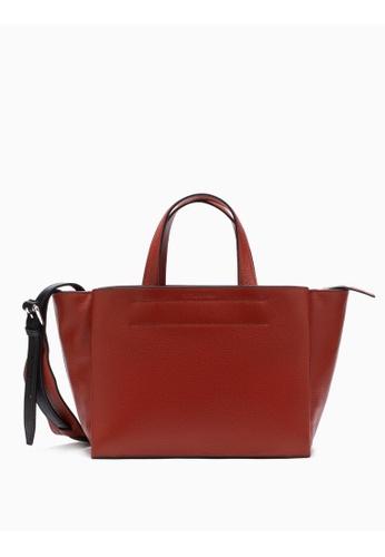 Calvin Klein Leather Carryall Bag 54B76AC3BE5352GS_1