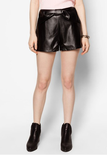 Czalora時尚購物網評價eci仿皮短褲, 鞋, 短褲