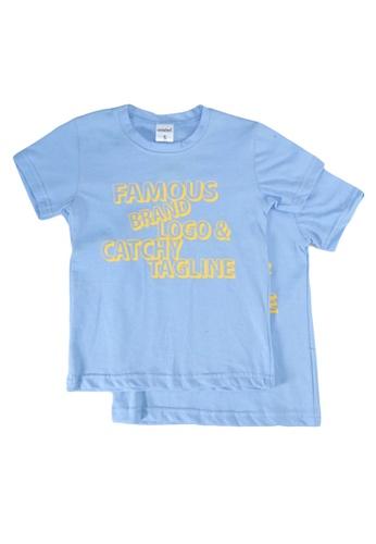 UniqTee blue Famous Brand Tee 2-Pack E2F3EKA3D987E5GS_1