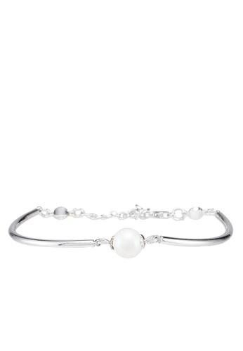 Klarf silver Pearl Audrey Bracelet 55861AC367D30CGS_1
