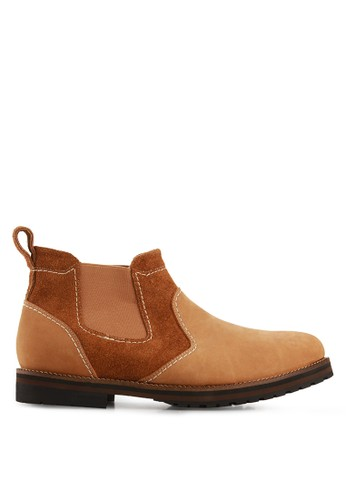 S.Baldo brown Addison Casual Shoes SB324SH19UKEID_1