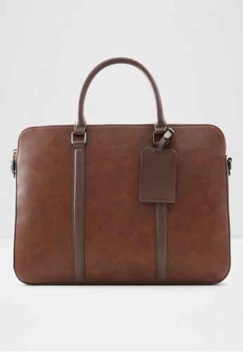 ALDO brown Tet Laptop Bag 15495AC2CF108EGS_1