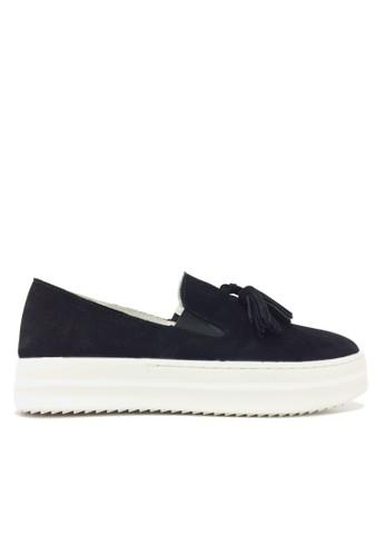 復古流蘇esprit服飾厚底懶人鞋, 女鞋, 懶人鞋