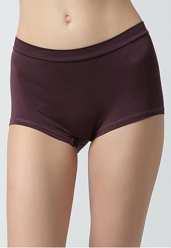 Tani purple Tani  Women's MicroModal® AIR Boy Short Panty 6950 789ADUS7FCF13CGS_1