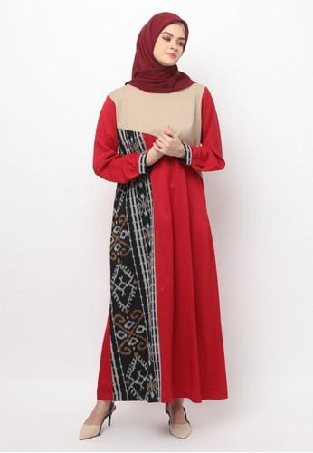 Jual Karina Design Vyra Gamis Tenun Original Zalora Indonesia