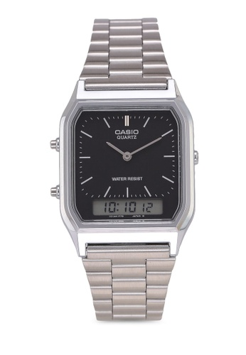 Casio silver Casio Watch AQ-230A-1DHDF 67D6EAC93528F4GS_1