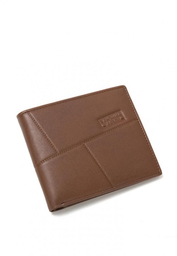 Greatvalueplus brown Newyork Army Men's Genuine Leather Wallet NYA1272-1 171CDACBE31476GS_1