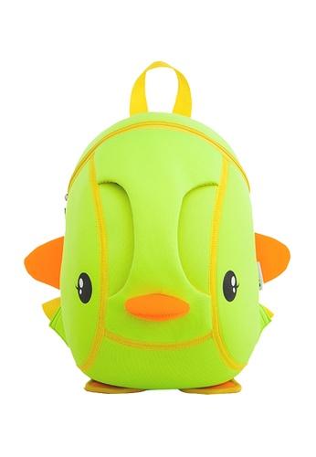 Nohoo green Nohoo Kids Backpack Duckie (Green) 6CD89KCAEEC78BGS_1