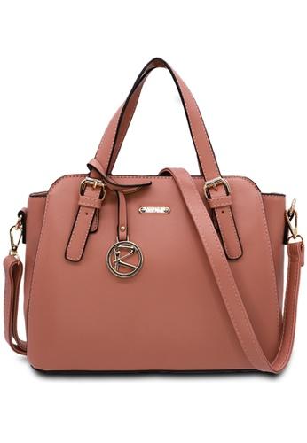 RUCINI pink Rucini Rachelle Satchel Handbag 6892AAC759705FGS_1