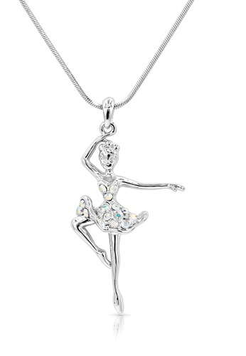 SO SEOUL silver Ellie Ballerina Fouth Position Necklace 5EE21AC78D2449GS_1