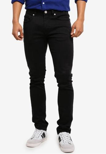 Electro Denim Lab black Calypso Slim Tapered Jeans 82ED7AAE29A719GS_1