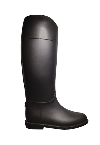Twenty Eight Shoes black Contoured Long Rain Boots VR81 2C969SHC9DEF22GS_1
