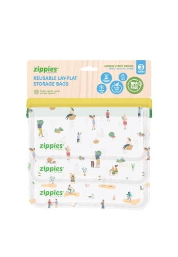 Zippies green The Green Vibes 3-Pc Sampler Set - Bags With A Mission F1D61ACBAEBAAEGS_1