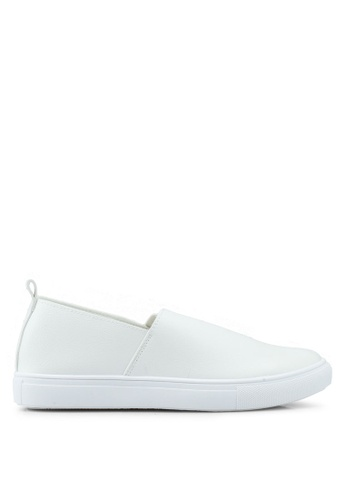 North Star white Casual Slip Ons 0E149SH6F6D248GS_1