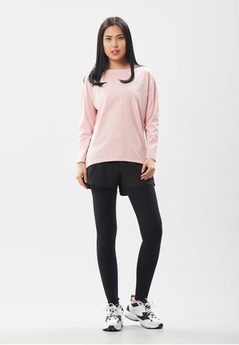 AVIVA pink AVIVA Noah Easy Wear Long Sleeve Top B10FCAAAEE25A1GS_1