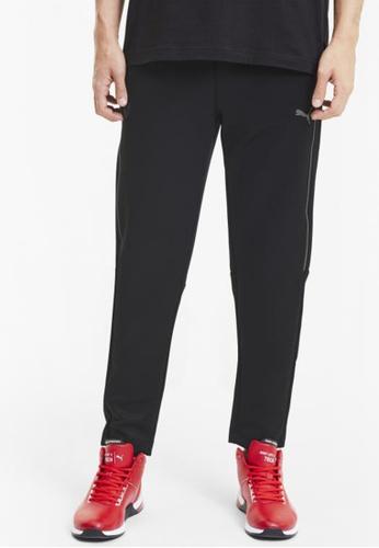 puma black Scuderia Ferrari Style T7 Men's Track Pants D8A66AA9F9FB99GS_1