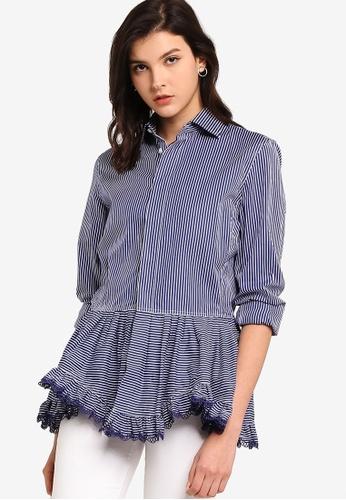 polo ralph lauren multi Long Sleeve Shirt Allie Shirt 3AE6DAA70C6C93GS_1