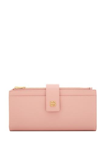 BONIA pink Blush Pink Bikki Centre Flip Wallet F14A7AC5411D44GS_1