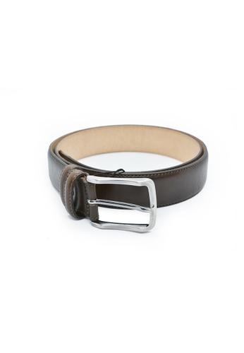 Charles Berkeley brown Charles Berkeley Men's Belt Genuine Leather-2652 97177ACC003154GS_1