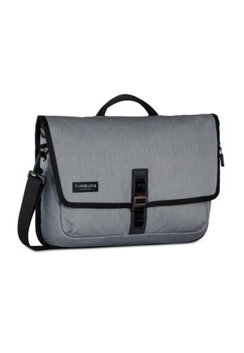 TimBuk2 grey Transit Briefcase 32E0BAC6789492GS_1