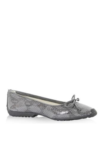 Covet grey French Sole Gabi Ballet Flats CO331SH37WHMPH_1
