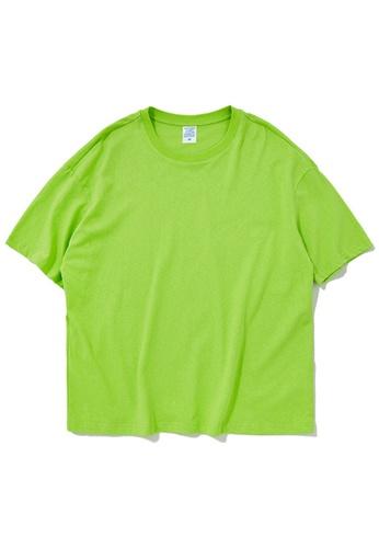 Twenty Eight Shoes Oversize Plain T-Shirts 8193S AA01CAA7EA44D1GS_1