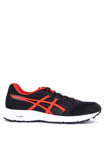 Asics black and multi Patriot 9 Running Shoes 9A157SHB7D29F8GS_1