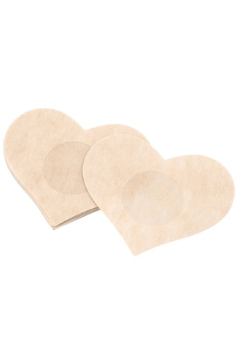 LAVABRA Intimates beige Invisible Bra - Love Nipple Covers 5 pairs Set LA387US53CUGID_1