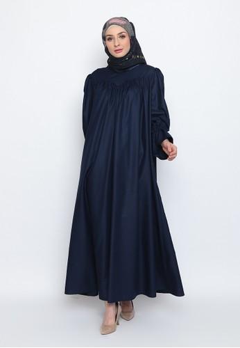 BellyBee blue Shafa Dress 1CA66AA51159D5GS_1
