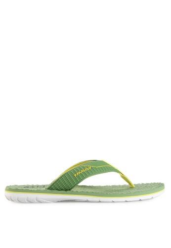 Pakalolo Boots green Thong Sandal PA409SH05PDAID_1