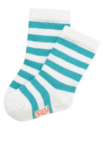 Du Pareil Au Même (DPAM) blue Turquoise Socks 82EFFKACEA0B56GS_1
