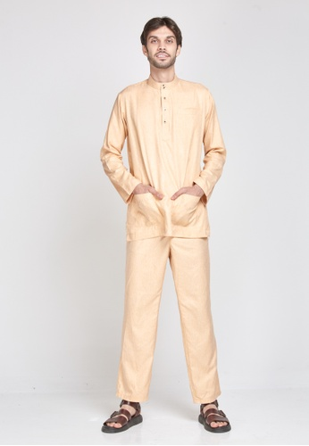 MOTHER & CHILD yellow Baju Melayu Sultan Exclusive A6A69AA7C74115GS_1