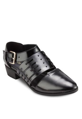 扣環帶鏤空牛津低跟鞋, 女esprit 床上用品鞋, 厚底高跟鞋