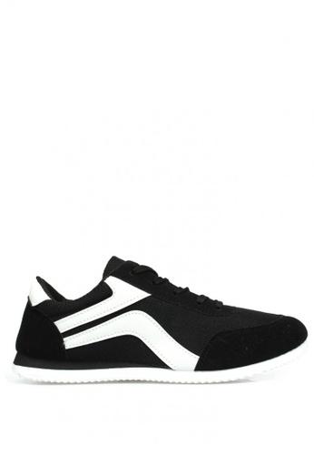 New York Sneakers black Llew A68 Men's Sneakers B7149SH0570F1BGS_1