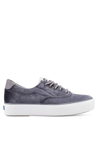 3c5b5f0b84417 Buy Keds Rise Velvet Sneakers Online on ZALORA Singapore