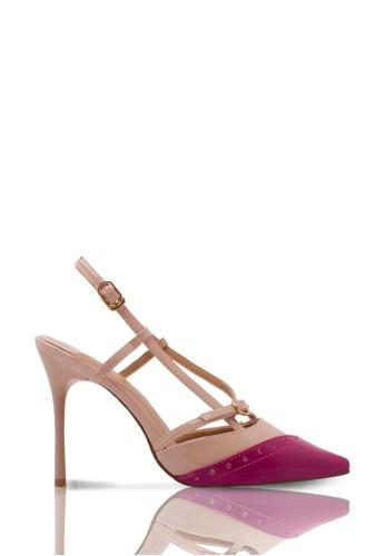 Sepatu Wanita High Heel Muffin Scarlet