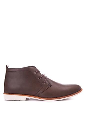 H2Ocean brown Basset Boots H2527SH0JICLPH_1