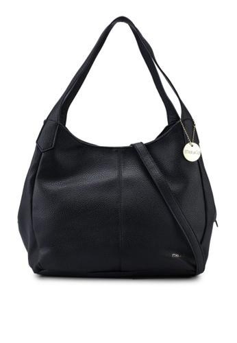 Mel&Co black Faux Leather Double Handle 48670AC5FD80E4GS_1