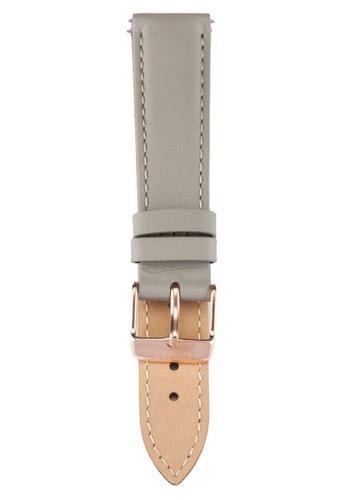 CLUSE grey La Boheme Grey/Rose Gold Watch Strap CLS019 CL977AC0RDCEMY_1