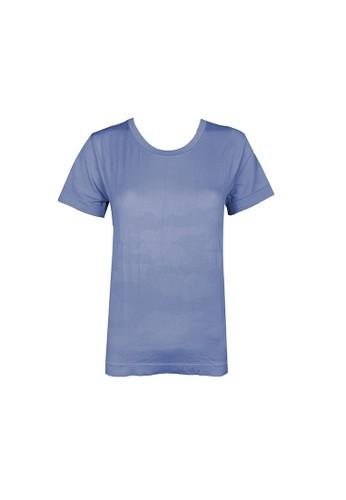 Pierre Cardin Lingerie blue Pierre Cardin Energized Seamless Tee 801-000029 - Light Blue A2F94AA5EB359FGS_1