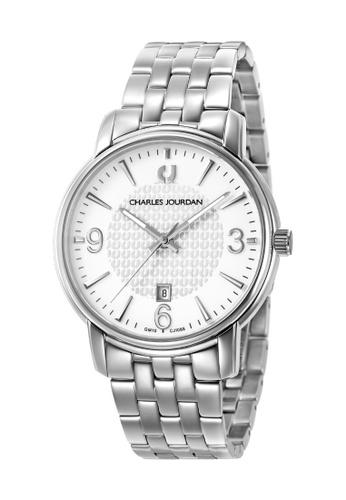 Charles Jourdan silver Charles Jourdan Men Watch Classic Quartz CJ1068-1312 067D3AC874F6A9GS_1